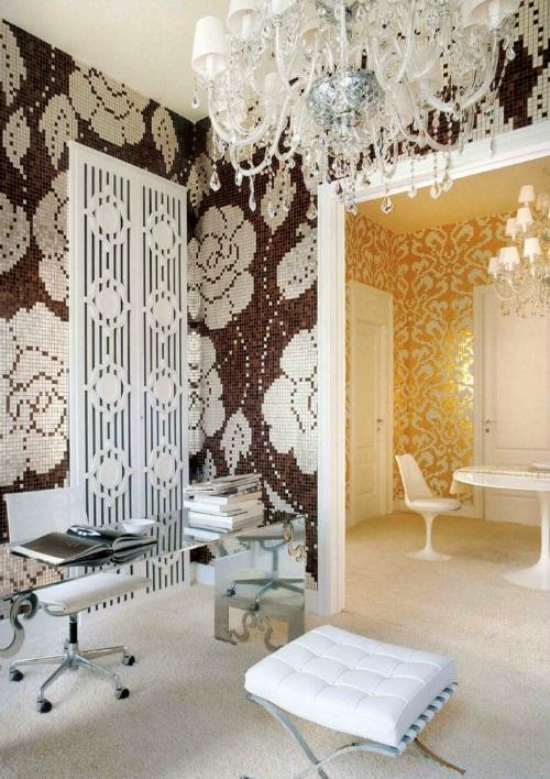 Badkamertegels Natuurtinten : Wand en vloertegels vloeren breda houten ...