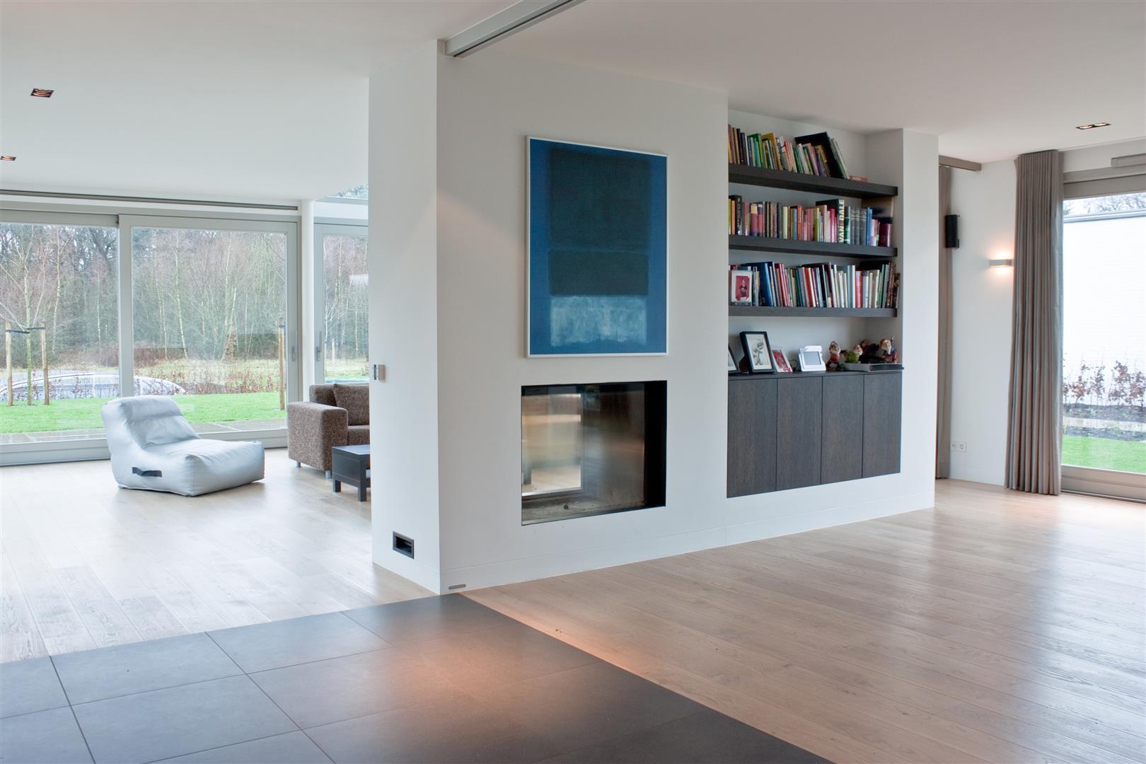 Tegels en houten vloer overgang strak zonder profiel for Interieur vloeren