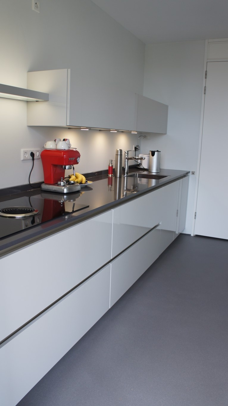 Keuken tegels breda pumpink keuken met kookeiland en teller - Keuken met teller ...