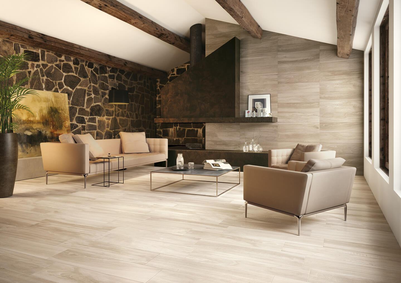 Tegels met houtlook - Houten Vloeren Morefloors Breda